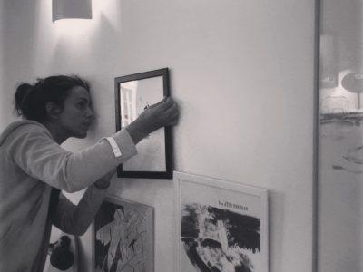 La première expo de Vague Graphique