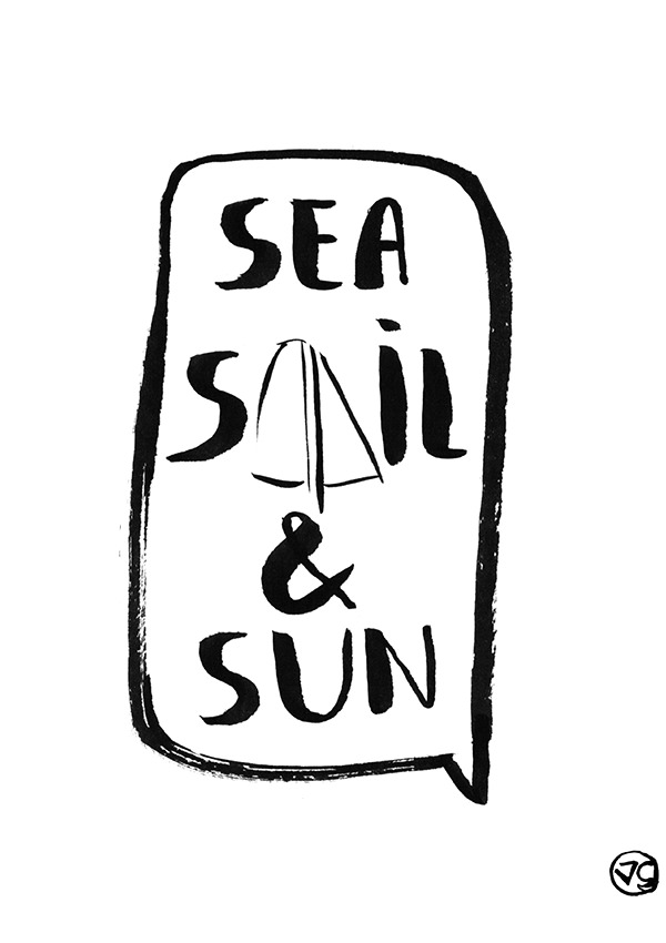 sea-sail-sun-vague-graphique-naviguer-voilier