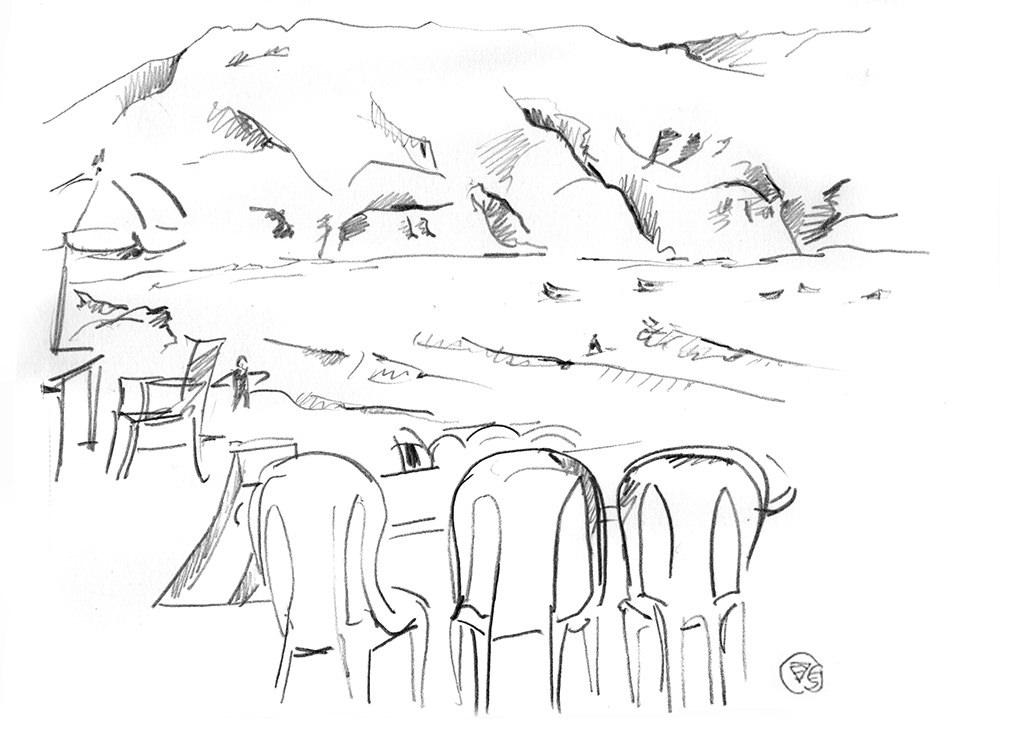 baie-imsouane-dessin-crayon-papier-carnet-de-voyage