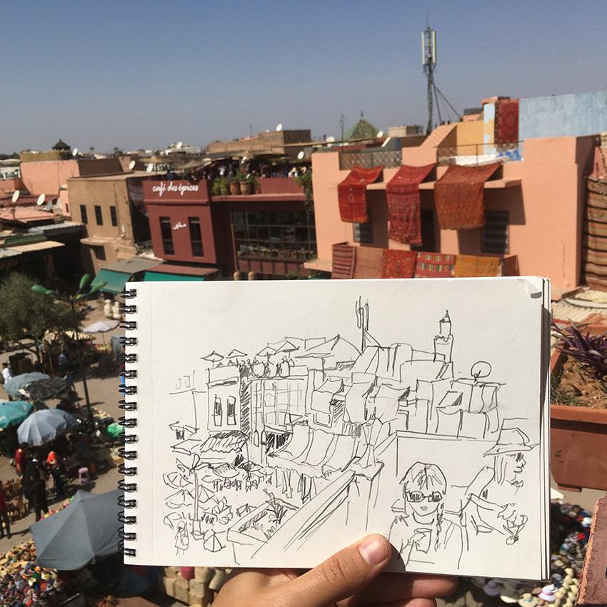 cafe-des-delices-vaguegraphique-maroc-marrakesh