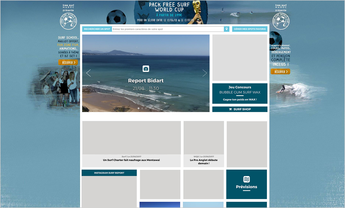 habillage-worldcup-freesurfmaroc-vague-graphique-studio-graphisme-vannes-bretagne