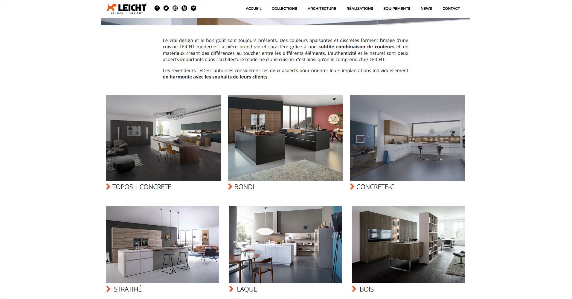 leicht-vannes-ecran-site-web-collection