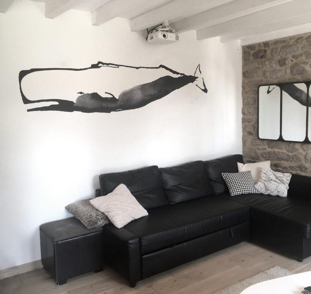baleine-salon-vague-graphique-pose-papier-peint