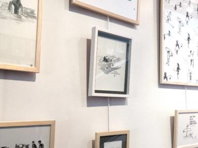 Exposition à Lacanau-ville (33) - Eté 2019