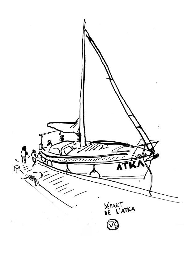 coloriage-confinement-requins-bateau-voilier