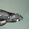 Baleine sticker, bord de mer décoration d'interieur